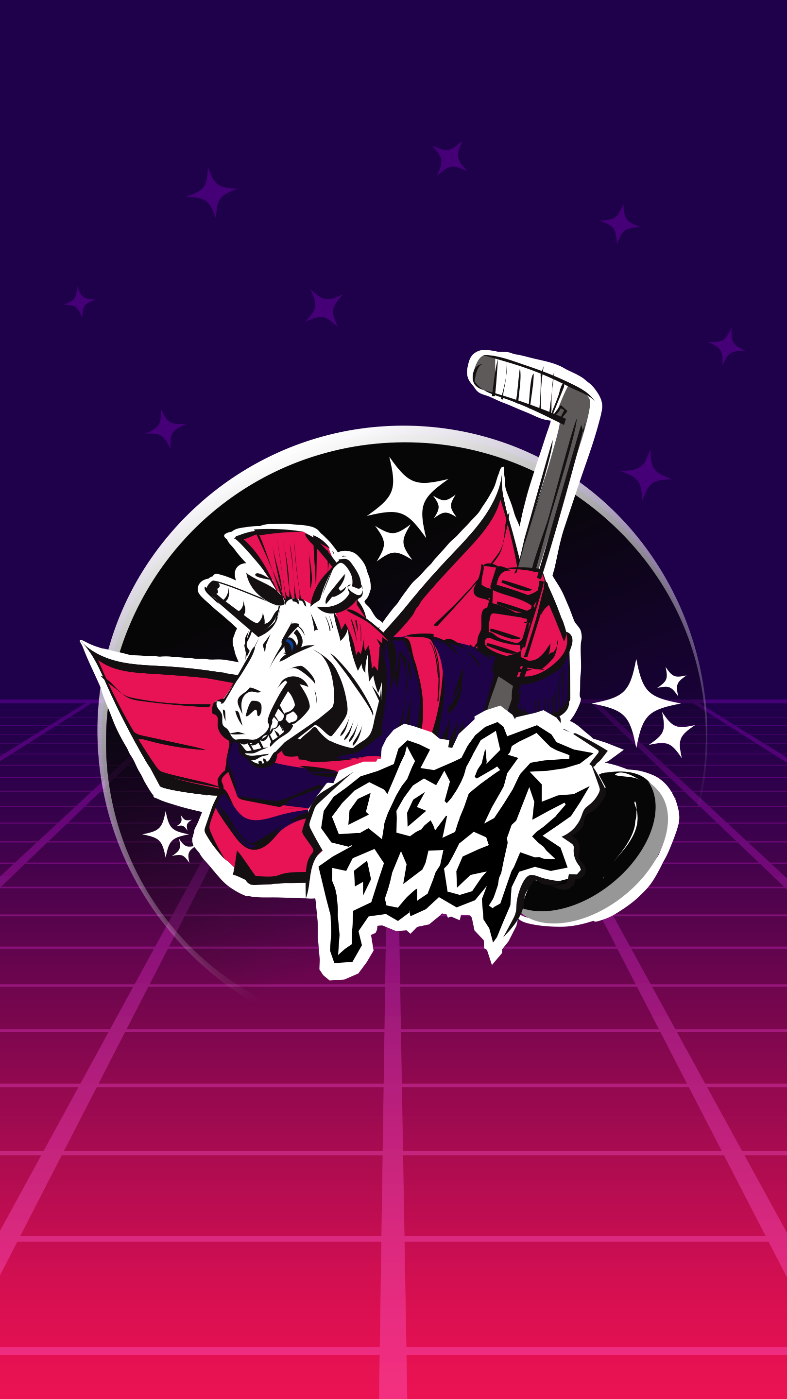 2019 Daft Puck Jersey Mobile Background